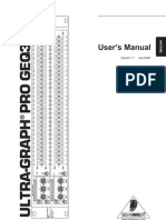 Behringer Ultrgraph Pro GEQ3102