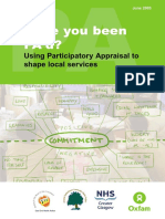 Have You Been Pa'd - Using Participatory Appraisal to Shape Local Services (Oxfam Uk)