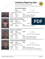 Peoria County Jail Booking Sheet 7/5/2016