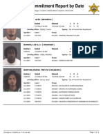 Peoria County Jail Booking Sheet for July 2 2016