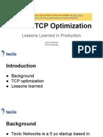 Keynote Tcp