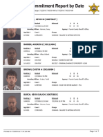 Peoria County Jail Booking Sheet for July 3 2016