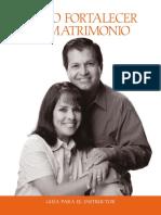 Guia Al Instructor Como Fortalecer El Matrimonio