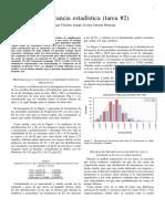Práctica en análisis de significancia, caso datos atmosféricos