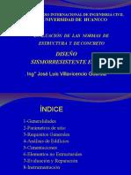 Ponencia Ing. José Villavicencio Guardia