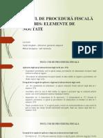 Suport Curs Cod Procedura Fiscala
