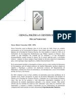 Varsavsky, 1969. Ciencia, Política y Cientificismo.pdf