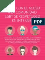 Guia Insultguía contra el acoso a personas LGBT en Facebook