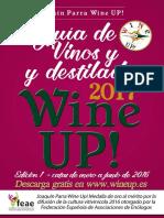 Guía de vinos y destilados Wine Up! 2017 1ªed