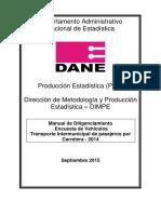 Manual de Diligenciamiento Vehiculos de Pasajeros Versión Final