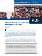 The Rise, Politics, and Governance of African Sovereign Wealth Funds
