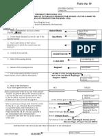PF Withdrawal Application Sample