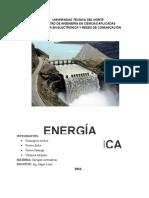 INFORME Energía Hidroeléctrica