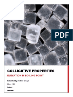 Elevation in Boiling Point (Colligative Properties)
