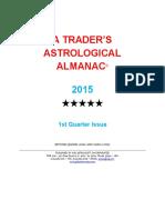 1st Quarter 2015 Almanac1