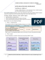 Complete Healthcare Insurance Annexure II Prospectus