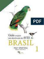 Guia completo para identificação das aves do Brasil