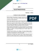 12 Physics Impq Ch01 Electrostatics