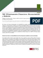 Resumen Nic 39