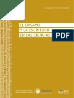 EL ENSAYO Y LA ESCRITURA EN LAS CIENCIAS SOCIALES