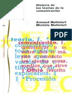 Mattelart Armand - Historia de Las Teorias de La Comunicacion (1)