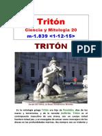 (20) Ciencia y Mitología - Tritón
