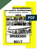 1 - Medicina Na Argentina - Ingresso 2017 EM WORD