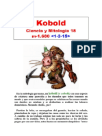 (18) Ciencia y Mitología - Kobold
