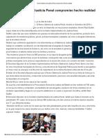 04/07/16 Nuevo Sistema de Justicia Penal compromiso hecho realidad -Critica