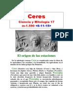 (17) Ciencia y Mitología - Ceres