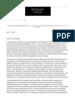 sharpsburg elementary cover letter