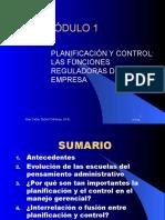 Planificacion y Control del MARCO LOGICO