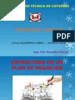 Estructura de Un Plan de Negocios. Final. t.r.
