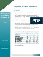 Informe de Coyuntura Económica - Junio 2016