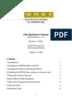 AIBO-quickstart