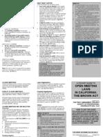 Brown Act Brochure DEC 03[1]