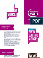 Latino Voter Tracking Poll