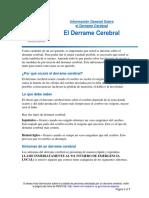Derrame Cerebral - Información General