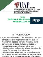 Brechas Relacionadas a Mineralizacion