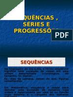 Sequências e Progressões 1