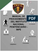Manual de Procedimientos Penitenciarios Traslado de Interno