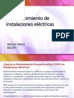 8 Mantenimiento de Instalaciones Eléctricas