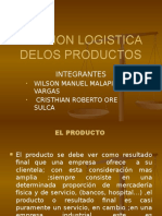 Gestion Logistica Delos Productos