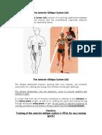 Core & Pelvis - The Anterior Oblique System