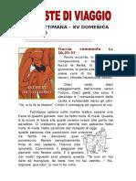 Provviste di viaggio XV domenica ordinario C.doc