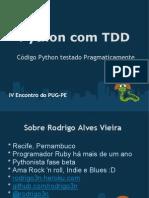 Python Com TDD