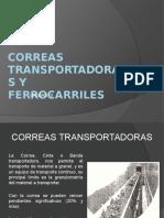 Correas Transportadoras y Ferrocarriles