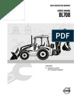 Service Manual BL70B, 9 Hydraulic System, Diagrams