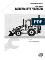 Service Manual Backhoe Loader B-Series, 1 Service and Maintenance