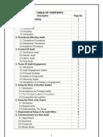 Audit Procedure